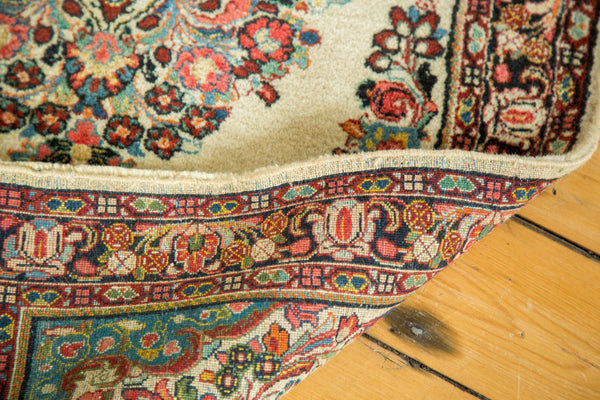 2.5x5 Vintage Sarouk Rug Runner - Old New House