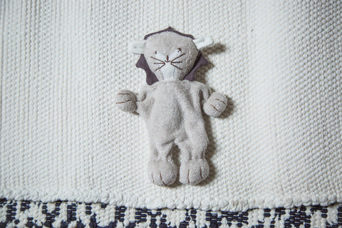 Organic Cotton Stuffed Animal Baby Lion - Old New House