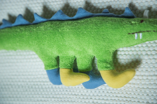 Organic Cotton Stuffed Dinosaur Toy - Old New House