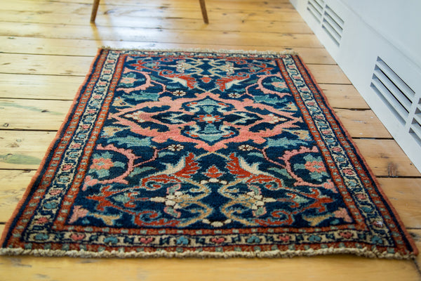 2x3 Vintage Kurdish Rug Mat - Old New House