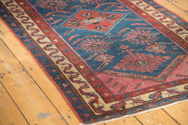 3x6 Antique Malayer Rug Runner - Old New House
