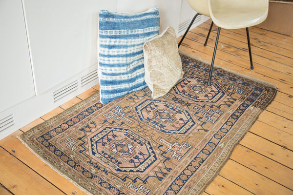 3x5 Vintage Belouch Rug - Old New House