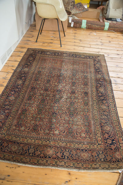Antique Tabriz Rug / Item 2171 image 3