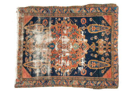 3 5x4 Antique Square Malayer Rug
