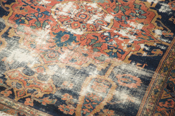 3.5x4 Antique Square Malayer Rug - Old New House