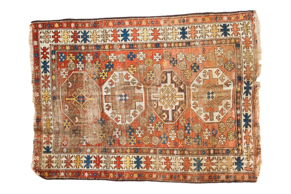 3x4.5 Caucasian Rug - Old New House