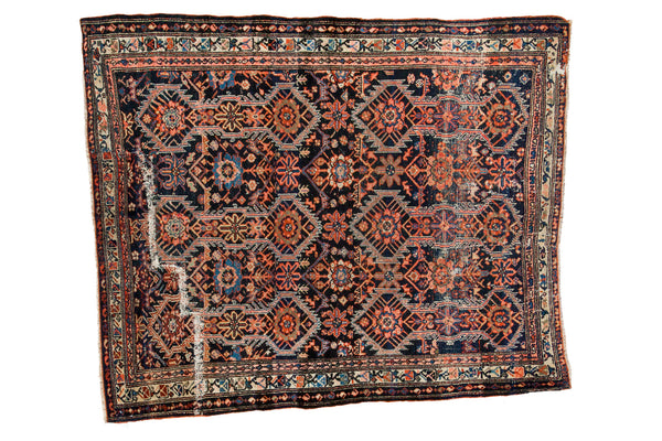 4.5x6 Antique Malayer Rug - Old New House