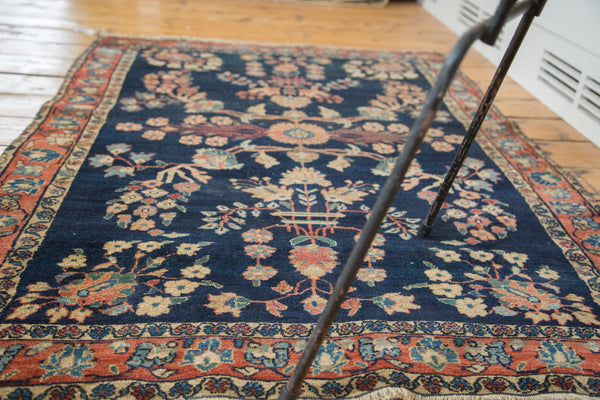 3.5x5 Antique Farahan Mohajeran Sarouk Rug - Old New House
