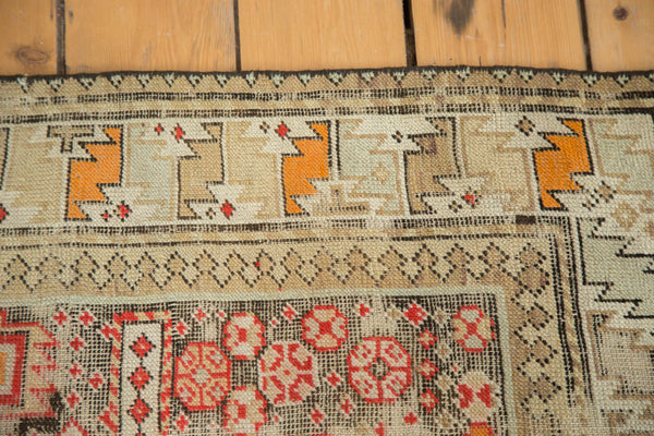 3x4.5 Antique Distressed Prayer Caucasian Rug - Old New House