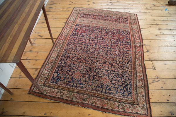 RESERVED 4x6.5 Antique Malayer Rug - Old New House