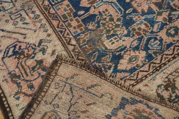 3.5x6.5 Antique Ivory Kurdish Rug - Old New House