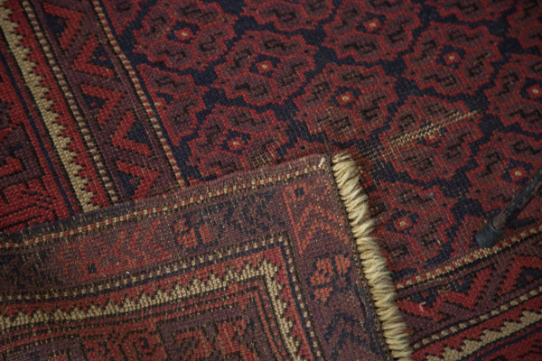 3.5x5 Vintage Belouch Rug - Old New House