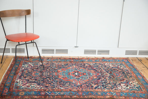 4x6 Vintage Dargazine Rug - Old New House