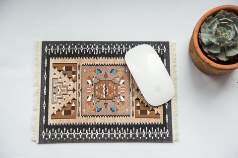 Navajo Mouse Pad - Old New House
