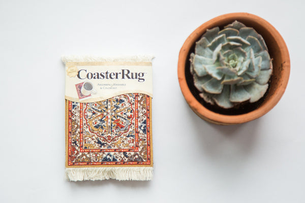 Persian Oriental Rug Coaster Set - Old New House