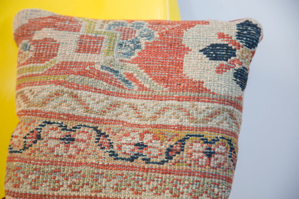 Antique Mahal Rug Pillow - Old New House