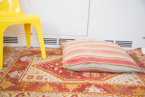 Oversize Handmade Moroccan Kilim Pillow - Old New House