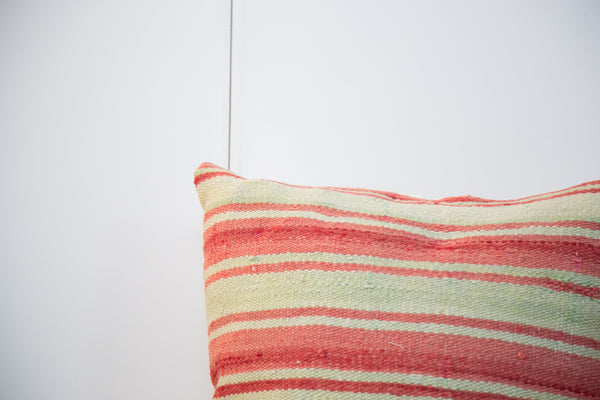 Large 24x24 Striped Kilim Pillow - Old New House