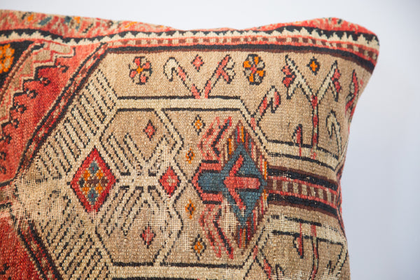 Handmade Persian Rug Fragment Pillow - Old New House