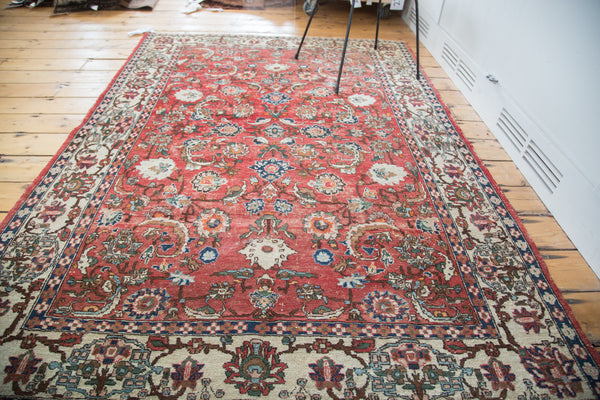 5x7 Vintage Distressed Rug - Old New House