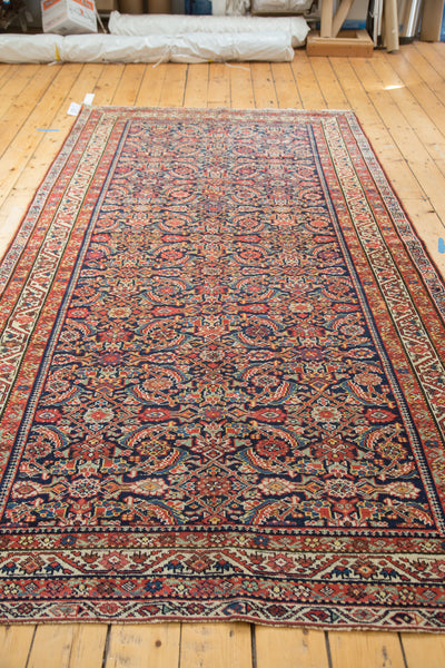 5x10 Antique Malayer Rug Runner - Old New House