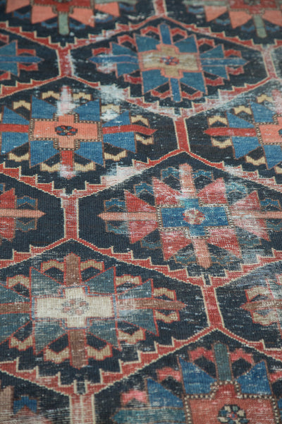 6x10 Vintage Distressed Bakhtiari Carpet - Old New House