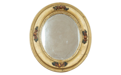 Vintage 1940s Gold Painted Mirror - Old New House
