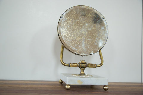 Century Marble Base Hollywood Mirror