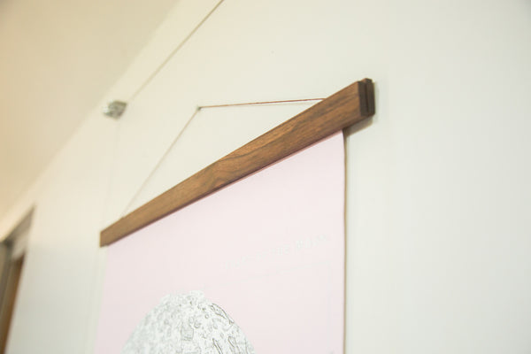 Antique Moon Chart Pull Down Revival in Pink - Old New House