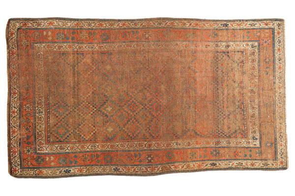 3.5x6 Distressed Antique Kurdish Rug - Old New House