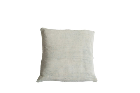 Faded Powder Blue Indigo Pillow - Old New House