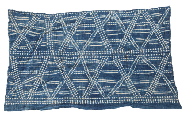 3x5 Vintage African Textile Throw - Old New House
