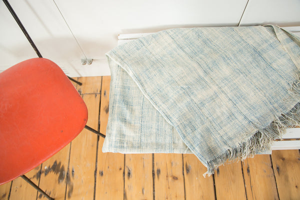 3.5x6.5 Vintage African Textile Throw - Old New House