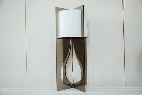 Reversible Shade Handmade Tucker Lamp - Old New House