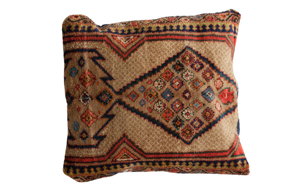 Vintage Camel Hair Serab Floor Pillow - Old New House