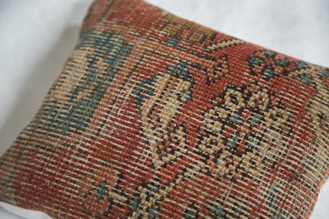 Antique Heriz Rug Fragment Pillow - Old New House