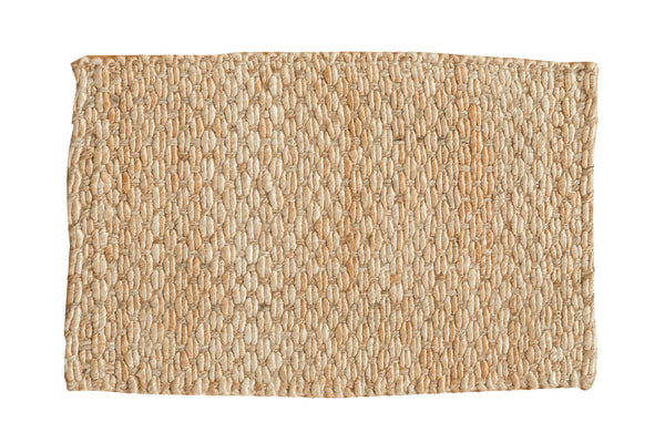 2x3 Hand Braided Gold Entrance Mat - Old New House