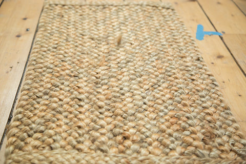 1.5x2.5 Hand Braided Gold Entrance Mat - Old New House