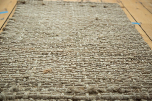 2x3.5 Hand Braided Grey Entrance Mat - Old New House