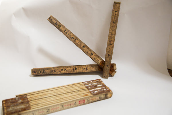 Vintage Accordion Ruler - Old New House