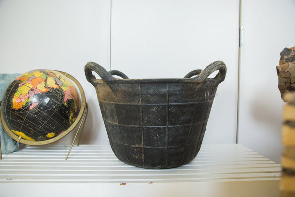 Recycled Rubber Basket LG - Old New House