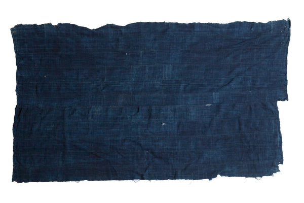 3.5x5 Dark Blue Denim Indigo Throw - Old New House