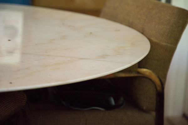 Vintage Marble Table - Old New House