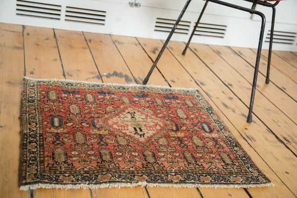 Antique Malayer Rug Mat / Item 2631 image 2