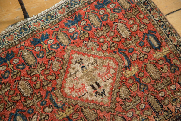 Antique Malayer Rug Mat / Item 2631 image 6