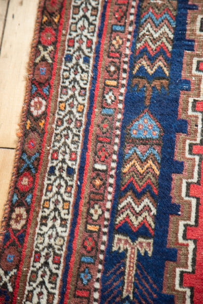 5.5x6.5 Vintage West Persian Square Rug - Old New House