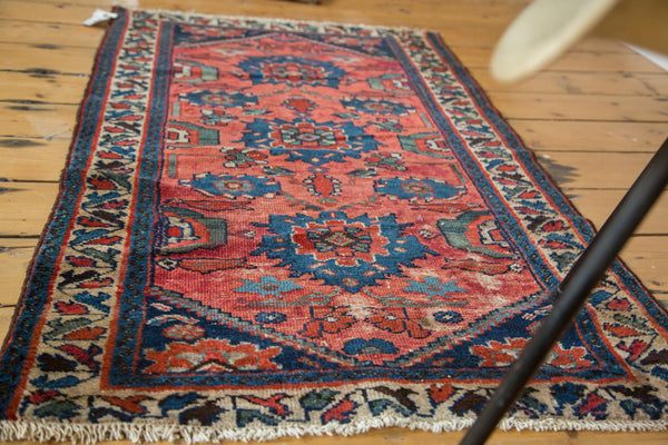 2.5x4 Distressed Antique Dargezine Rug - Old New House