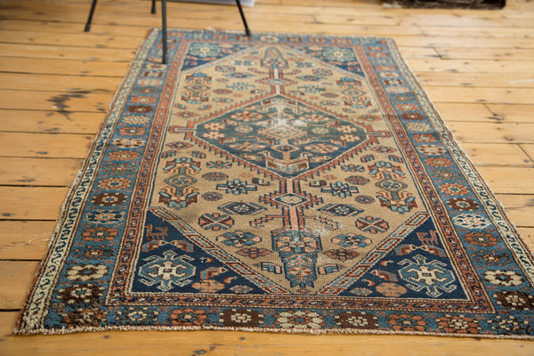 ... 3x5.5 Distressed Antique Hamadan Rug   Old New House ...