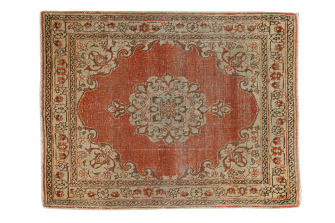 2x2.5 Distressed Antique Jalili Tabriz Rug Mat // ONH Item 2663