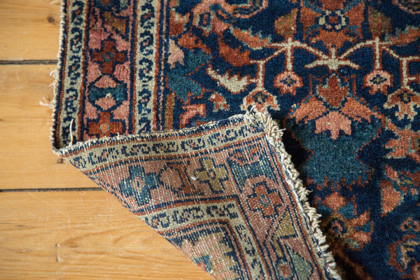 2x2.5 Distressed Antique Lilihan Rug Mat - Old New House